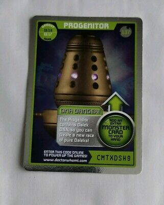 Rare Doctor Who Trading Card Progenitor (Gadget)