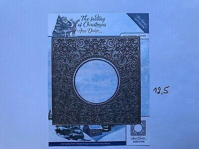 Ice Crystal Circle ADD10110 The feeling of Christmas von Amy Design