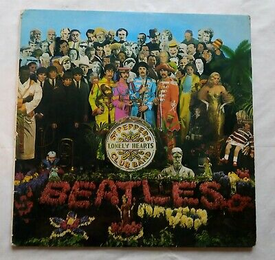 The Beatles Sgt. Peppers Lonely Hearts Club Band UK First LP Mono PMC7027