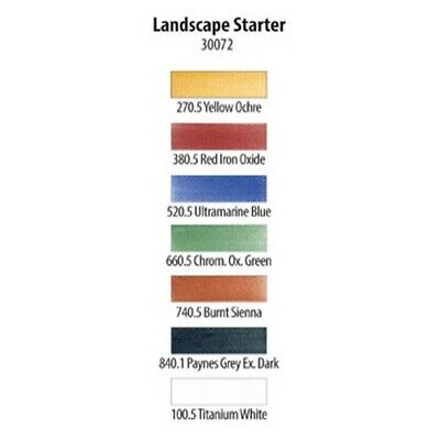 Armadillo Art & Craft 30072 Panpastel 7 Colour Starter Set Landscape