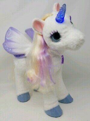 FurReal Friends StarLily My Magical Unicorn Plush  NO Berry Works Great