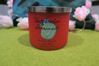 Bath & Body Works 3 Wick Candle - Watermelon Lemonade