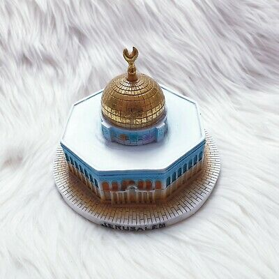 Amazing Colourful Resin Souvenir for Jerusalem , Aqsa Mosque , Dome of the Rock