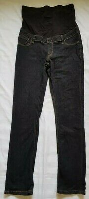 Maternity Skinny Leg Jeans Charcoal Size 10