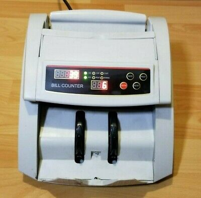 Money Cash Counting Bill Counter and Counterfeit Detection, Tested and Working
