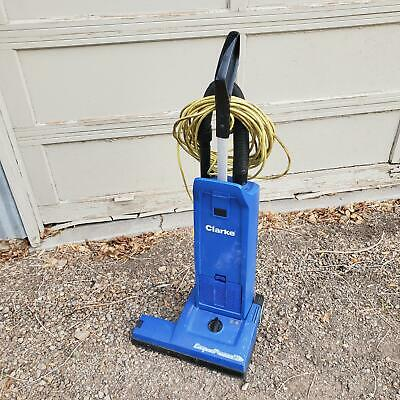 Clarke Carpetmaster 218 Commercial Upright Wide Path Vacuum Cleaner