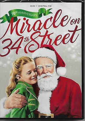 Miracle on 34th Street (DVD, B&W) Maureen O'Hara John Payne Natalie Wood New