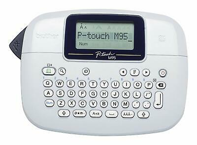 Brother PT-M95 Label Maker, P-Touch Labeller, QWERTY Keyboard, Handheld
