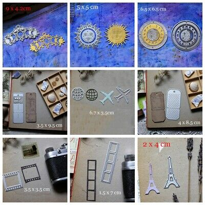 Small photo Sun Metal Cutting Dies Stencils for DIY Scrapbooking Cards Crafts