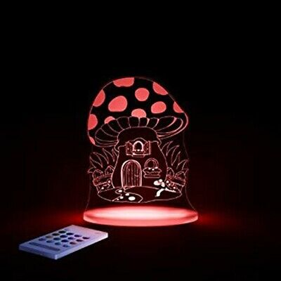 ALOKA Sleepy Light LED Night Light + Remote - Mushroom