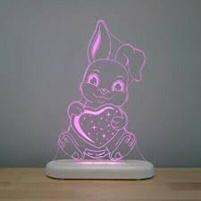 ALOKA Sleepy Light LED Night Light + Remote - Bunny