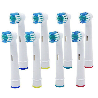 4pcs 8pcs for Braun Oral-B Clean Electric Toothbrush Replacement Brush Heads