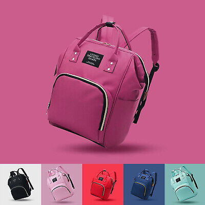 Mummy Backpack Baby Diaper Nappy Backpack Multifunctional Mommy Bag Changing hot