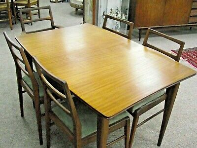 Superb Mid Century Vintage Teak Table & Chairs - Richard Hornby For Heals