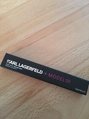 Karl Lagerfeld + Model Co Brow Pencil medium/dark, Augenbrauenstift braun, 1,5g