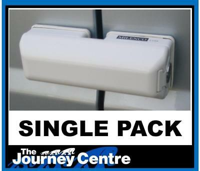 Milenco Rear or Sliding Door Lock Single suitable for Van or Motorhome Easy Fit