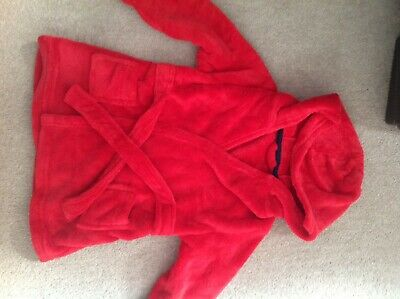 Red Dressing Gown 2-3 Years