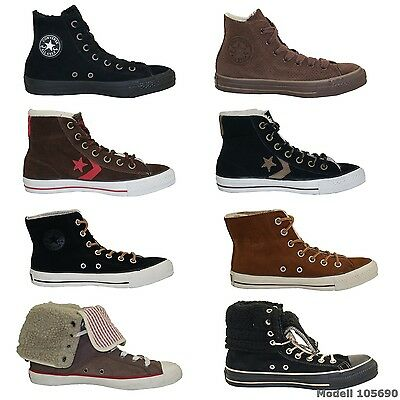 Converse Tous Stars High Top Sneakers Bottes Hommes Femmes Chaussures D'Hiver