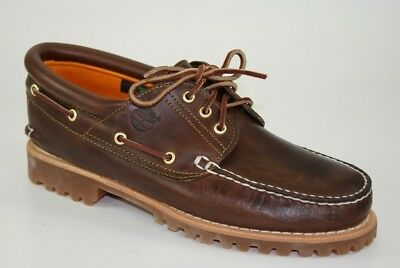 TIMBERLAND HERITAGE 3 EYE Classic Lug Traditional Boat Shoes