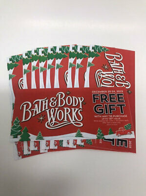x10 Bath & Body Works Gift Up to $16.50 With $10 Purchase Coupons