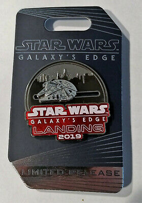 Disney Parks Star Wars Galaxy's Edge Landing 2019 Slider Pin Limited Release NEW