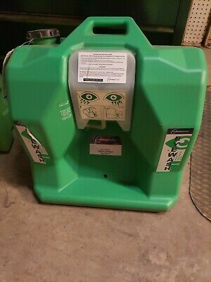 The Safety Director , Eye Wash Station , Green , 16 Gallon , Wall Mount