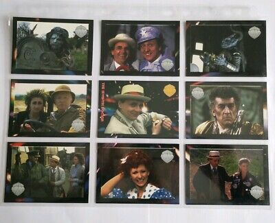 Rare Doctor Who Trading Cards Series 4 ((The Seventh  Doctor)