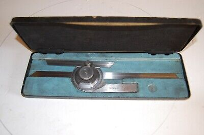 Moore And Wrght Vernier Protractor