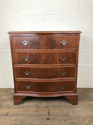 Good Quality Serpentine Chest of Drawers - Delivery Available
