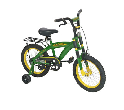 John Deere Green & Yellow16in Bicycle #TBEK35016