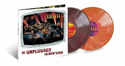 NIRVANA - MTV UNPLUGGED IN NEW YORK -  COLORED VINYL 2xLP - SEALED NEW 25TH Ed.