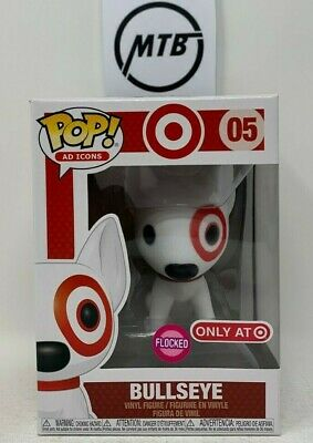 Funko Pop Ad Icons Bullseye 05 Flocked Target Exclusive Red Collar