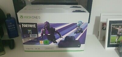 Microsoft Xbox One S 1TB Purple Console with  Fortnite Battle Royale Special Ed.