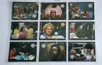 Rare Doctor Who Trading Cards Series 4) The  Sixth Doctor) Year 1996