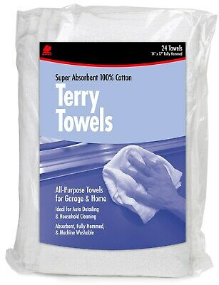 Buffalo 60221 14 X 17 Terry Towels 24 Count