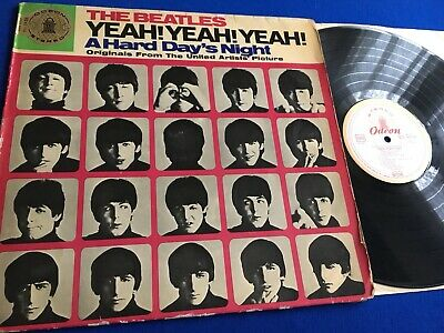 The Beatles ~ Yeah! Yeah! Yeah! (A Hard Day's Night) ~ German Stereo Vinyl LP