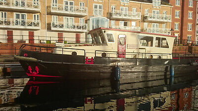 Dutch Barge, Canal Barge, House Boat, Live aboard with 1 meter draft