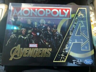 Hasbro Monopoly Game: Marvel Avengers Endgame Special Edition Monopoly(Rare)
