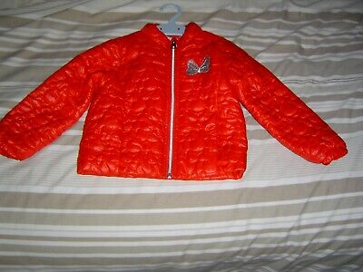 Girls Disney Store Minnie Mouse Quilted  Jacket Coat  4 years BN