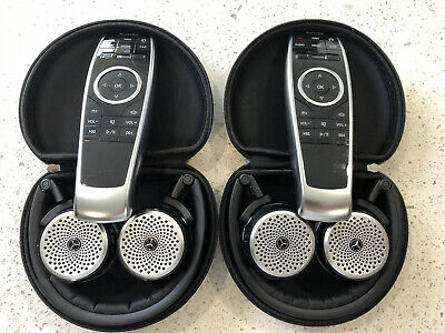 2014 - 2019 Mercedes Benz Headphones/Dvd Remote Control Complete Set Oem