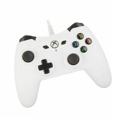 AmazonBasics Xbox One Wired Controller - 9.8 Foot USB Cable, White free shipping