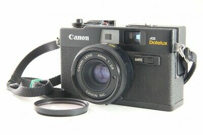 Excellent++ Canon A35 Datelux 35mm Film Camera w/ 40mm f/2.8 from Japan *839