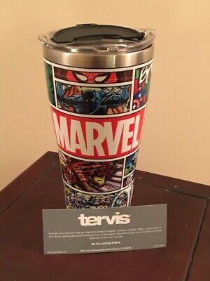 Tervis Marvel 80Th Anniversary Stainless Steel Limited Edition 30 Oz Brand New!