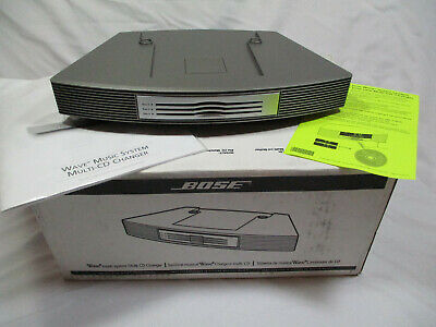 NIB Bose Wave Music System 3-Disc Multi-CD Changer Accessory