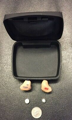 Hearing Aid Pair ITE canal WI series Unitron Wireless