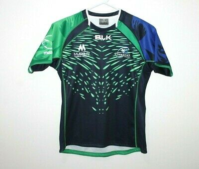 Connacht Rugby Union BLK Jersey Size Men's Large