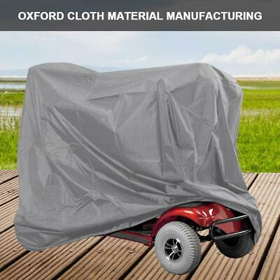 Oxford Cloth Waterproof Protective Elastic String Home Mobility Scooter Cover