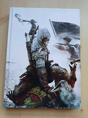 Assassin's Creed 3 - PS4 Xbox PC - Hardback collectors edition strategy guide