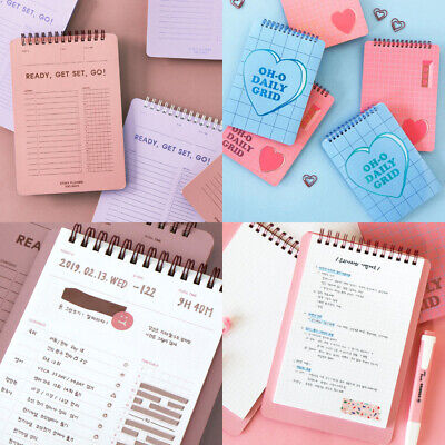 Plan B Study Square Notebook Memo Drawing Review Recipe School Office Cute Book