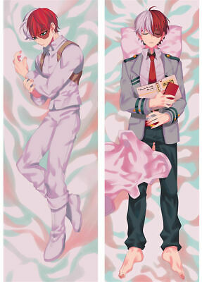 Todoroki Shoto My Hero Academia Dakimakura Anime Body Pillow Cover Case 150x50